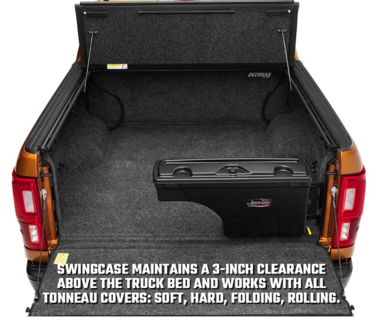 stay underneath tonneau cover with enough clearance